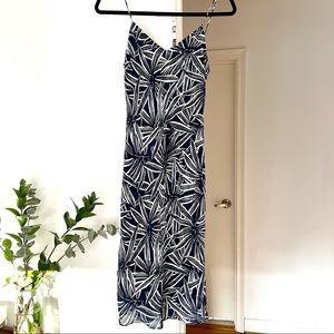 Palph Ralph Lauren Floral Print Silk Midi Dress